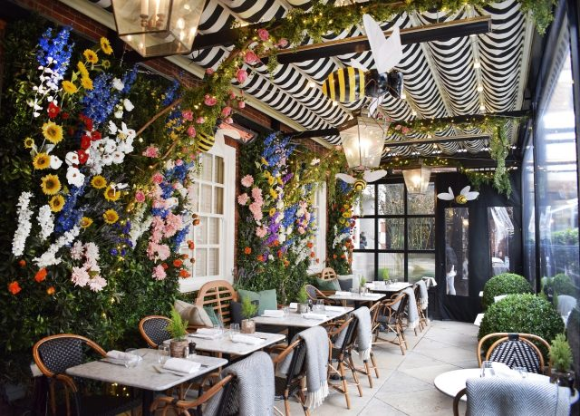 Dalloway Terrace in Central London